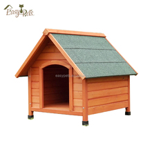 Factory direct wholesale custom wooden outdoor dog kennel