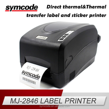 MJ-2846 Brand New Durable USB Serial Port Barcode Printer with certificates