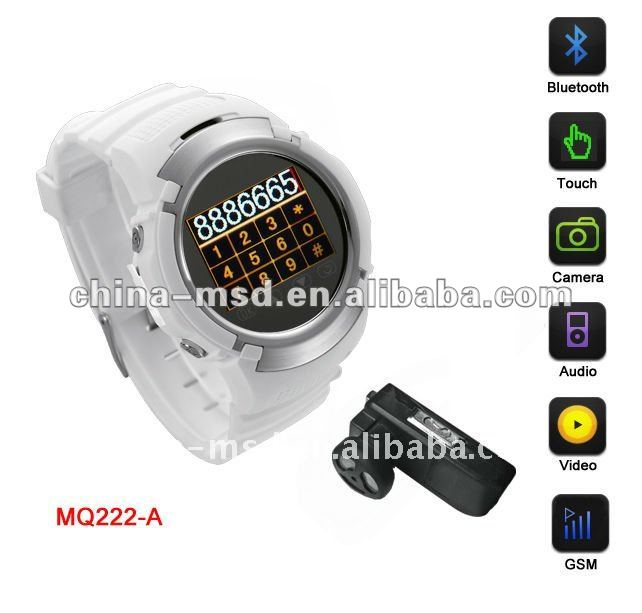 2012 hot item China cheap watch phone with Touch screen