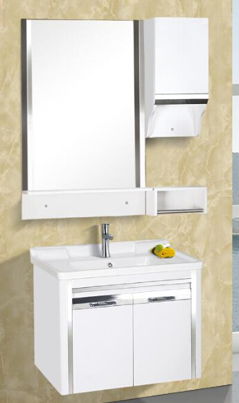 High Standard elegant appearance pvc bathroom cabinet, pvc