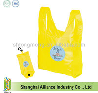 Full Color Printing-- Heat Transfer T Shirt Vest Fodling Shopping Tote Bag