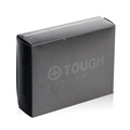 Printing frosted black pp plastic packaging box custom logo