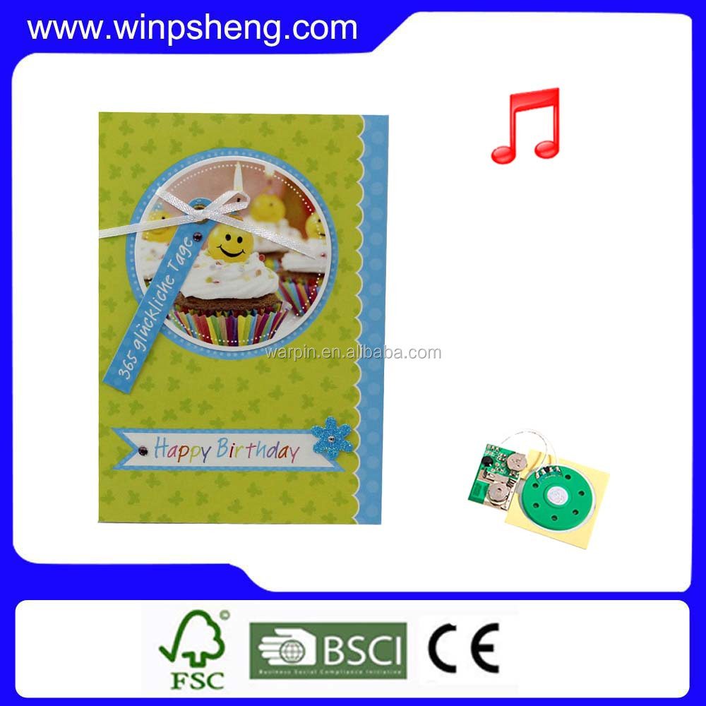 Voice recorder chip for greeting cards