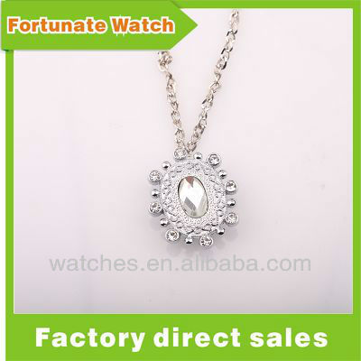 Factory Direct Sale Ladybug Watch Necklace PW1004