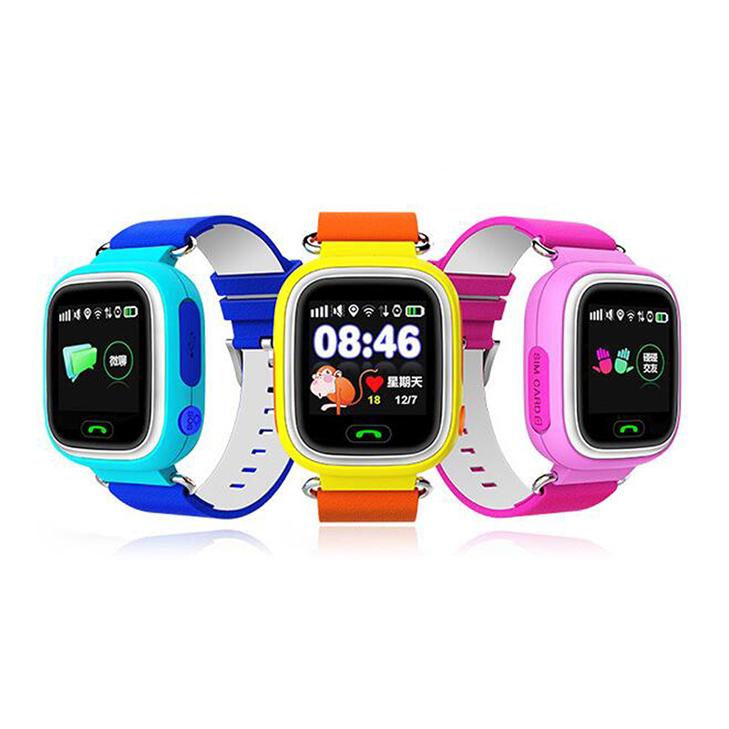 Top Brand Support Phone Call Blue Gps Watch Child Tracker