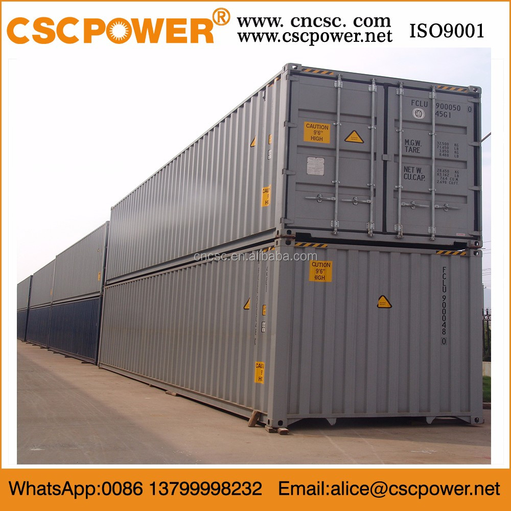 20' full side access container