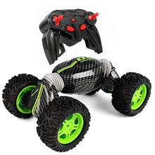 RC 2.4GHZ HYPER TUMBLE 4WD 2 SIDED STUNT TRUCK