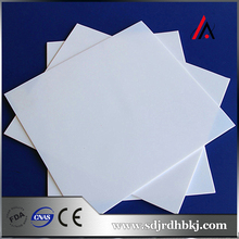 hot sale 300 micron transparent white or another color pvc plastic sheet