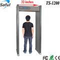 Saful tamper proof 12 zones LCD display walk through metal detector TS-WD1200
