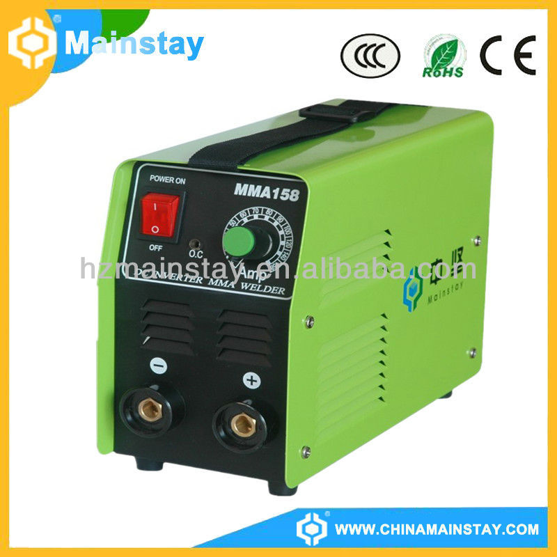 MMA158 High quality DC arc electro forge steel grating welding machine
