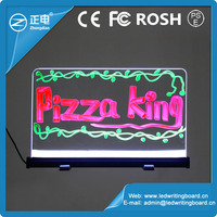 Electronic fluorescent board multi color rgb used outdoor advertising signs price