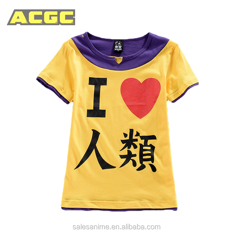 No Game No Life Sora Short Sleeve T-shirt Cosplay Costume