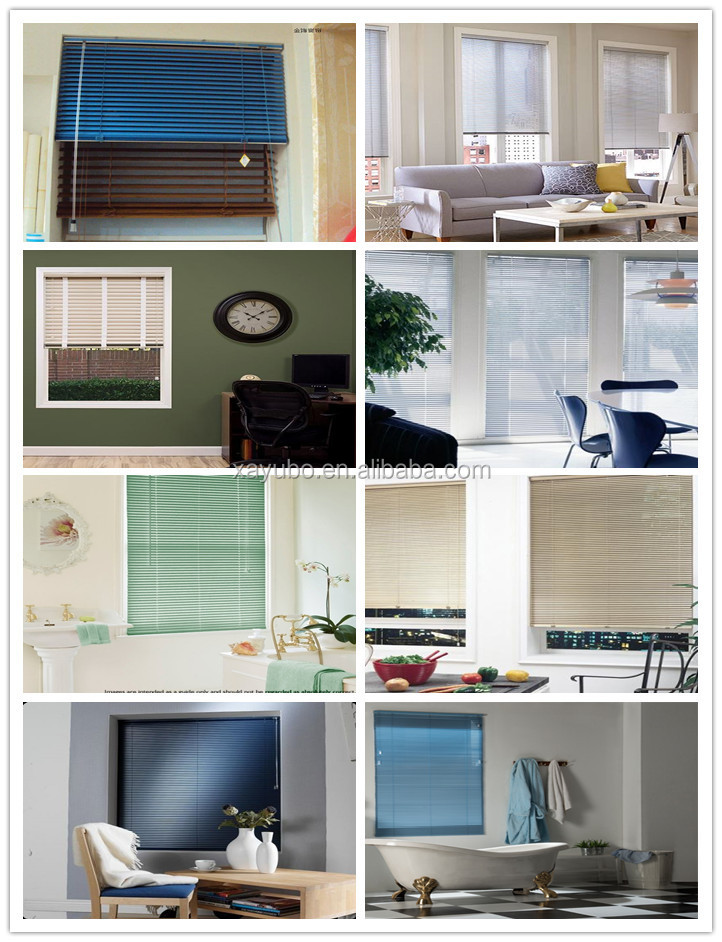 Free Sample 25mm Aluminum Flap Slats For Horizontal Venetian Blinds