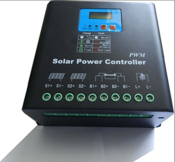 Waterproof 5A 12V/24V automatic identification mppt solar charge controller