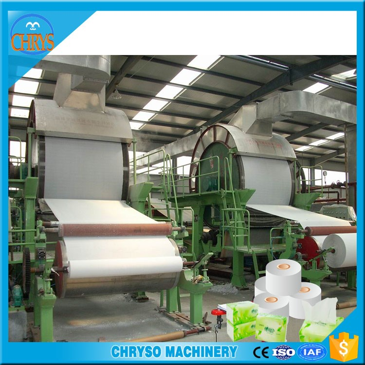 Professional Small Scale Tissue Paper Machine / Toilet Paper Making Plant