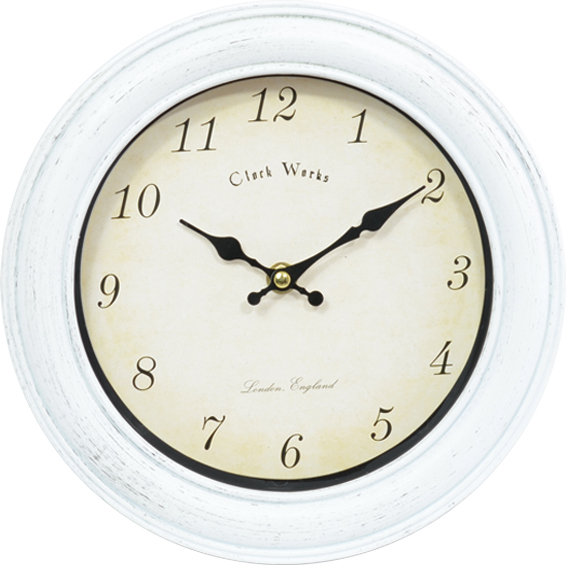 10-inch European-style simple round silent clock wall clock hanging clock