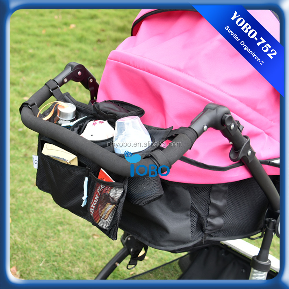 Baby stroller hanging toy storage bag hanging jewelry organizer storage