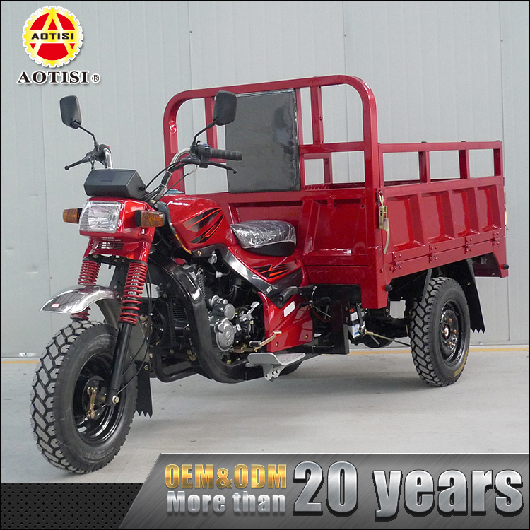 Hot sale heavy Loading cheap 149ML RWD adult motor cargo tricycle