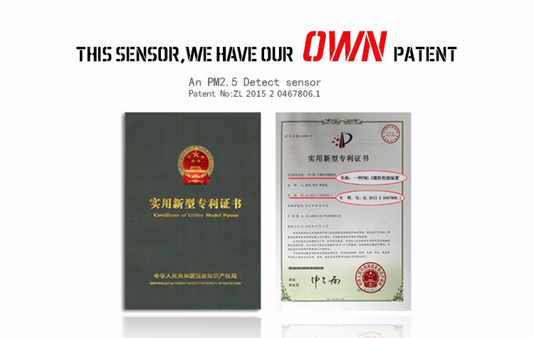 Accurate Particulate Matter Sensor Manufacturer
