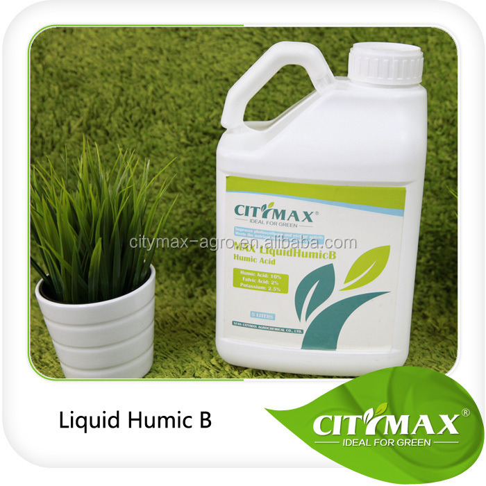 Bulk Humic Acid Organic Liquid Fertilizer