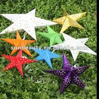 party and fesival decoration ,paper star