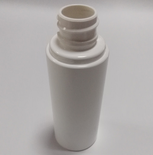 50 ml plastic PET round bottle clear colour