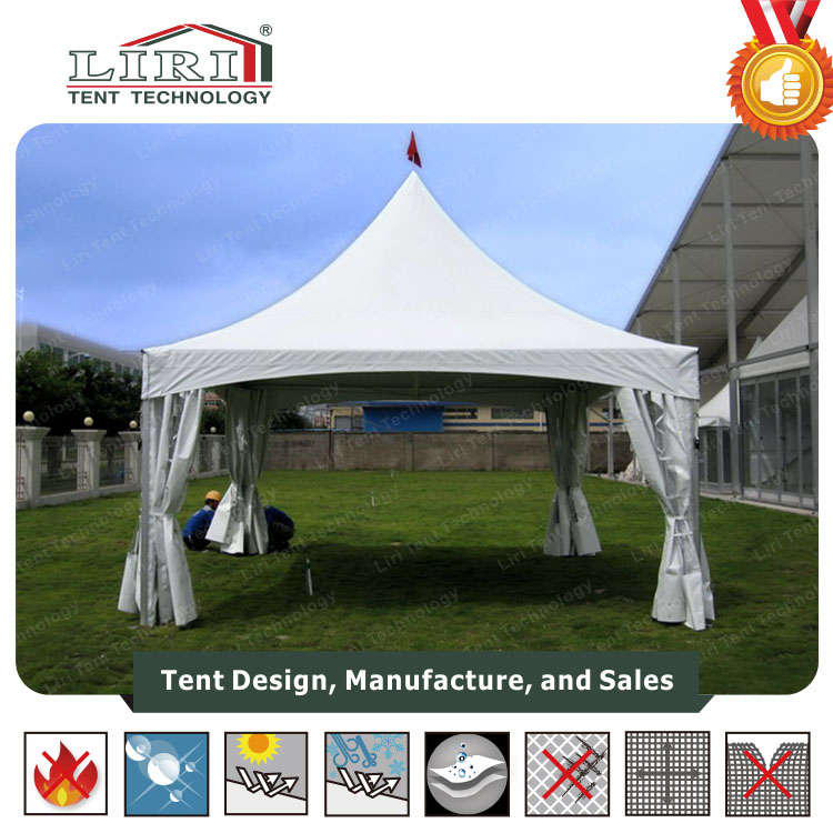 Metal Gazebo Garden Pavilion for Sale / Large Outdoor Pavilion Tent