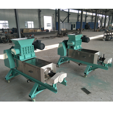 With crushing function!popular green vegetable double helix squeezing machine