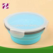 New business idea insulated round folding food storage hot sale kids lunch box