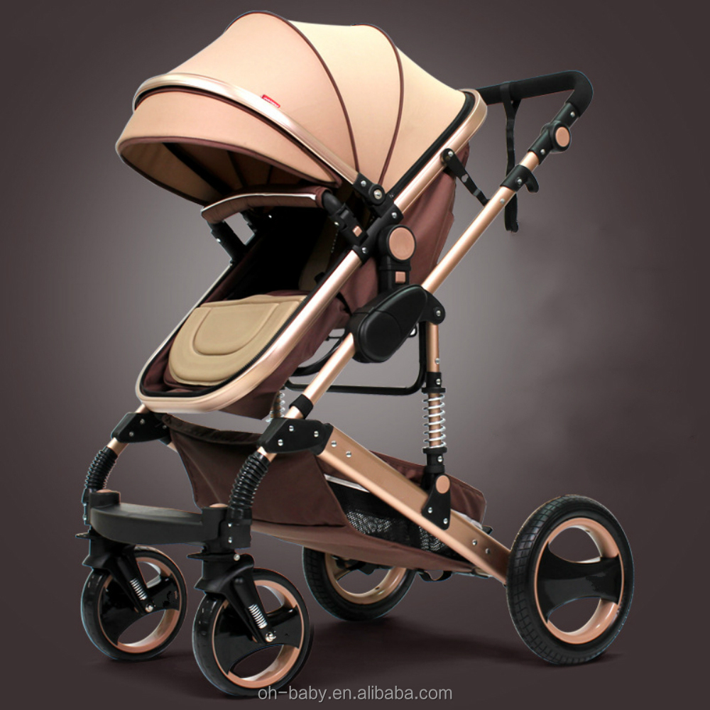 Easy Custom Sitting And Lying Two-way Light Weight Throne Lightweight Baby Stroller