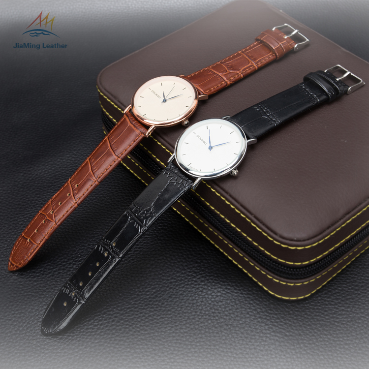 23mm Customized genuine leather Watch Band / Strap For Luxury Watch