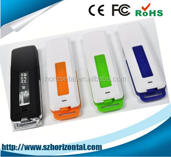 2014 hot selling voice recorder pen drive free sample 3 years warranty Paypal usb plastic voice recorder usb flash driver