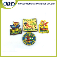 Hot sale top quality rubber 3D Effects soft pvc fridge magnet