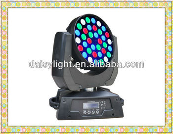 New Indoor 360W High Power 36pcs High Light DMX512 Zoom effect LED Moving head Lighting