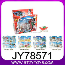 Chrismas wind up toy car with puzzle for sale