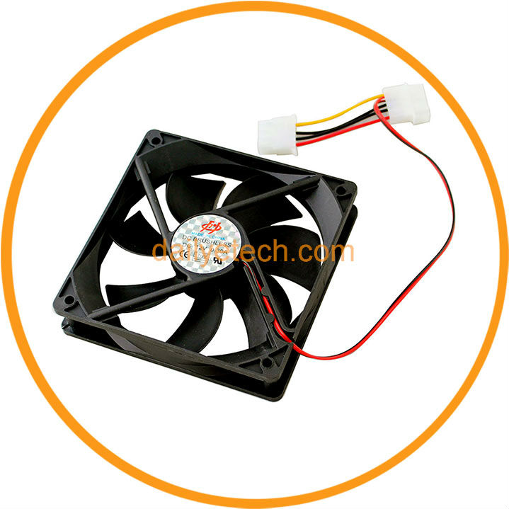 120mm 12cm PC Cooling Cooler Fan from Dailyetech