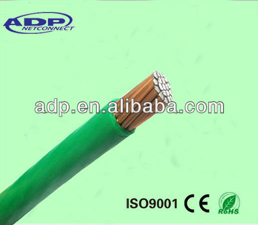 electrical cable/ CCA wire single core 50mm2 electrical wire for construction and building