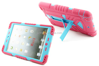 For iPad air heavy duty case with strong kickstand and popular desige in students