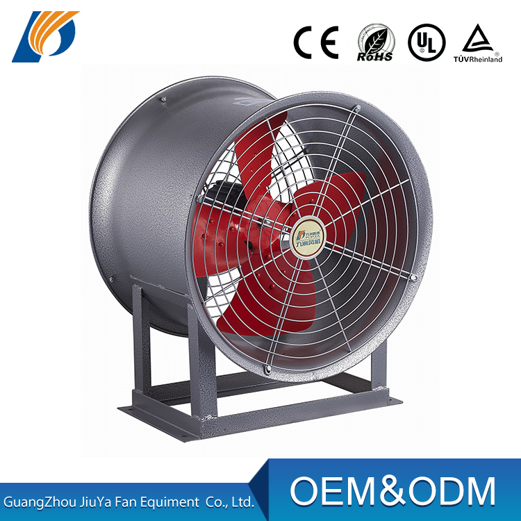 Exhaust fan/Industrial air exhaust tube ventilation duct axial fan blower