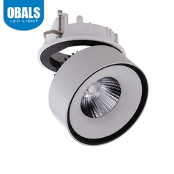 CE ROHS 50 Degree 2000LM 20W AC100-277V COB LED Track Lighting for Car Stores