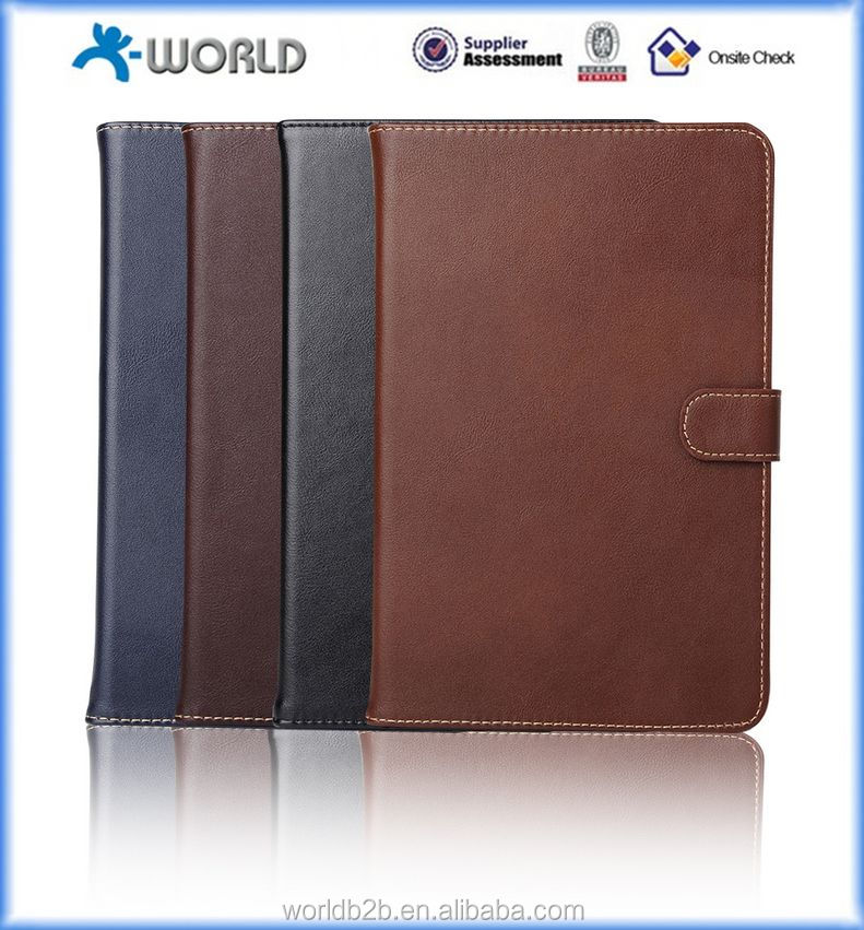 China factory trading genuine leather case for ipad mini 4