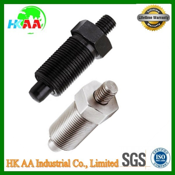 Factory direct price customized stainless steel indexing plunger with threaded stud
