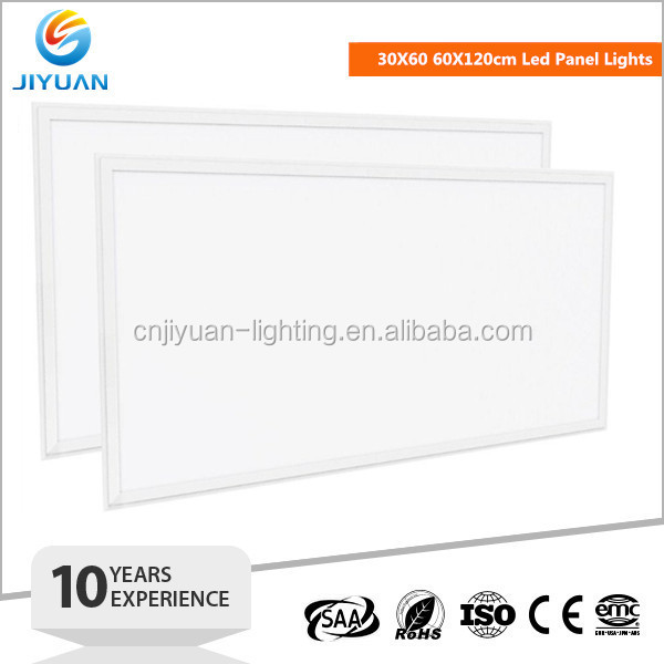 Square led panel down light 600x600 36W 40W 48W 72W Dimmable AC85-265V Drop Ceiling Recessed Suspended LED Panel Light 60x60