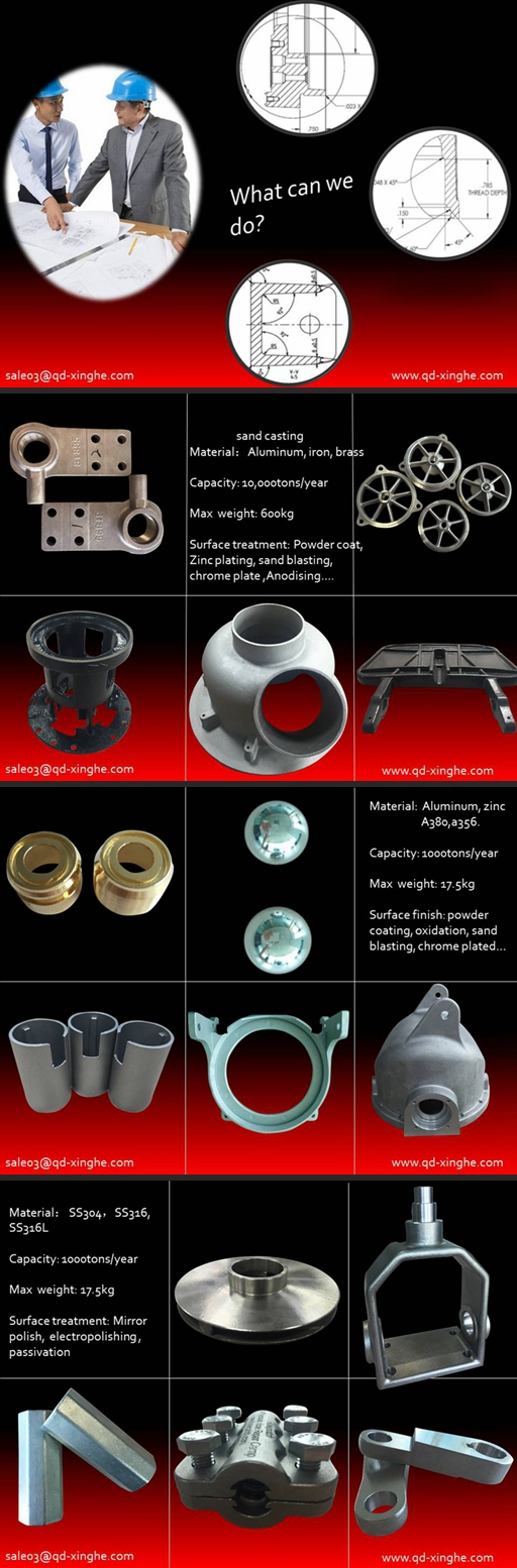 OEM/ODM metal pressure die gravity die casting high precision aluminum die casting with powder-coated