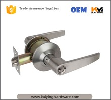 Hotel Safely Cylindrical Zinc Alloy Lever Handle Door Lock