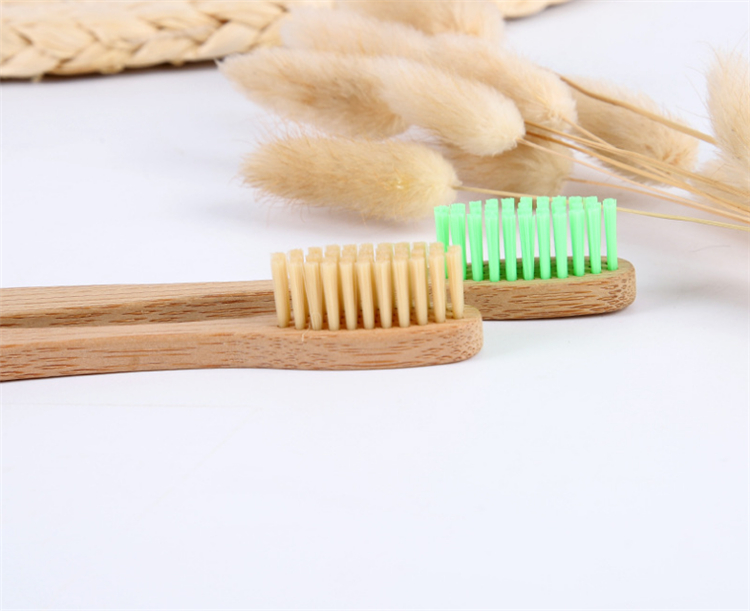 2019 new 100% biodegradable hotel bamboo toothbrush charcoal