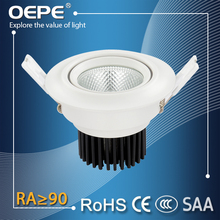 Recessed Led Cob Ceiling Spotlight Light Fittings 3W 5W 7W
