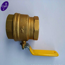 fully welded forged Thread Copper valve brass ball valve