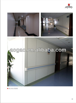 hospital compact laminate wall cladding panels