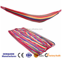 High-end Easy Carried Light Weight Double Parachute baby Camping Hammock chair stand swings
